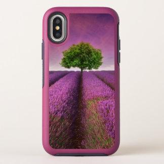 Lavender Field Landscape Summer Sunset OtterBox Symmetry iPhone X Case