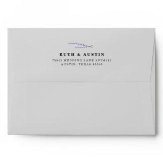 Lavender Fields Envelope