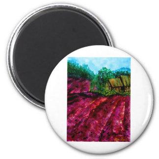 Lavender Fields Magnet