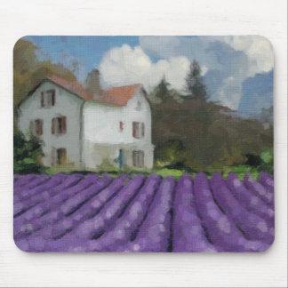 Lavender fields mouse pad