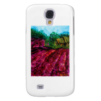 Lavender Fields Samsung Galaxy S4 Cover