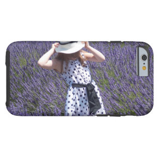 Lavender Fields Tough iPhone 6 Case