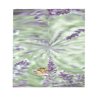 Lavender Fields - with a twist! Notepads