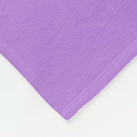 Lavender Fleece Blanket