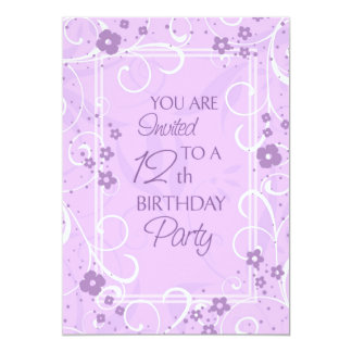 Girls 12th Birthday Party Gifts on Zazzle