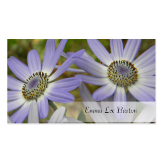 lavender florals 1 customizable business card