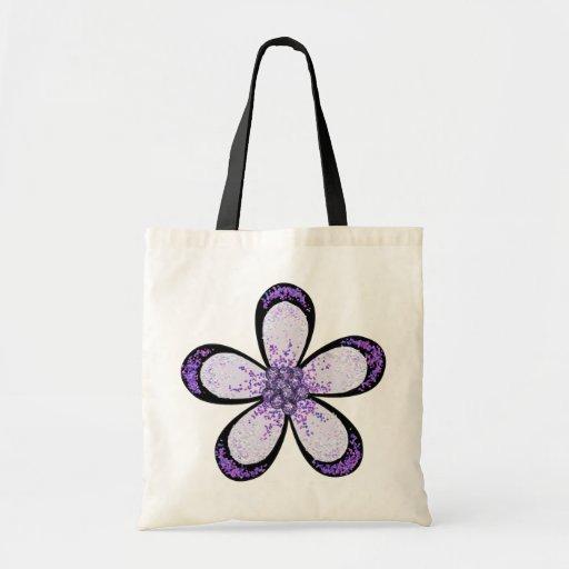 Lavender Flower Bag