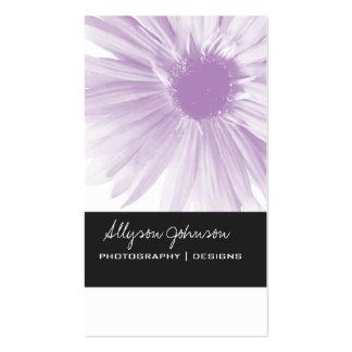 Lavender  Flower Design  Background Business Cards