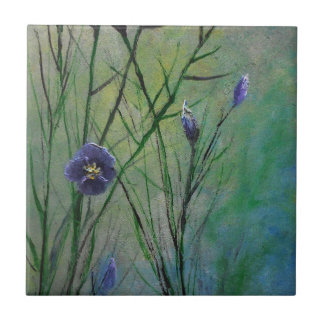 Lavender Flower Dream Ceramic Tile