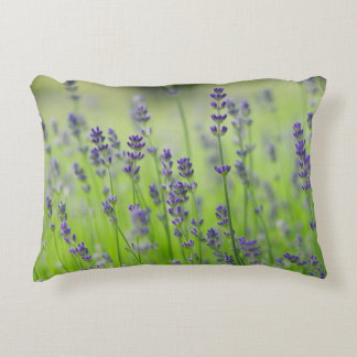 lavender flower field.JPG Accent Pillow