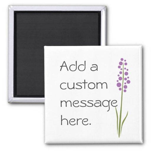 Lavender Flower Magnet
