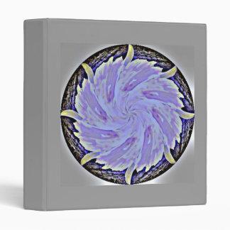 Lavender Flower Mandala Binder