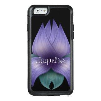 Lavender Flower on Black