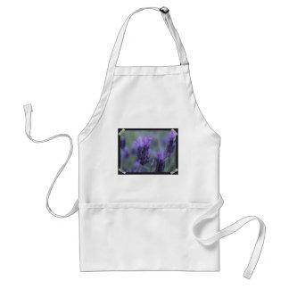 Lavender Flower Photo Apron