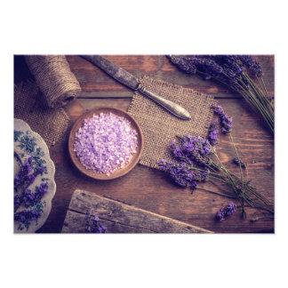 Lavender flower photo print