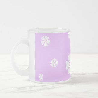 Lavender Flower tropical mug
