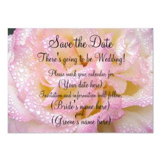 "Lavender Flowered Invitation 4.5"" X 6.25"" Invitation Card"