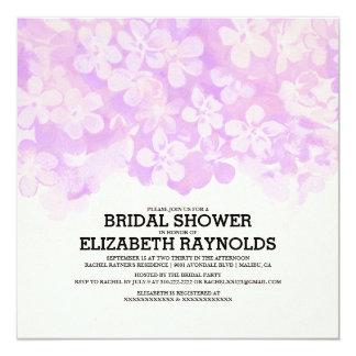 Lavender Flowers Bridal Shower Invitations Invite