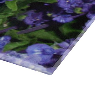 Lavender Flowers, Dark Purple Violet Blue Floral