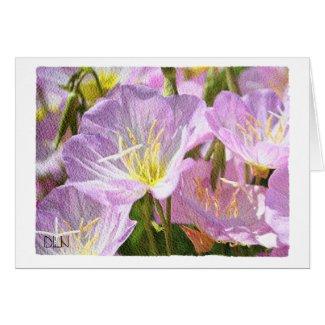 Lavender Flowers/Floral Art/Watercolor Look