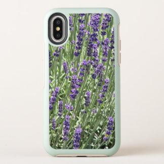 Lavender Flowers Floral OtterBox Symmetry iPhone X Case