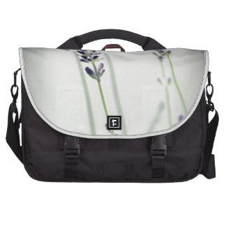 Lavender Flowers Bag For Laptop