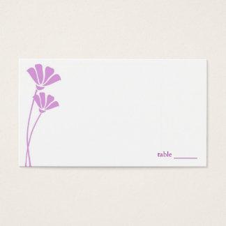Lavender Flowers, Place Cards