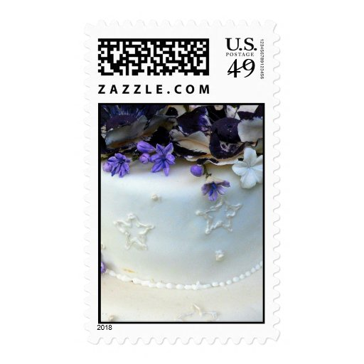 Lavender flowers postage