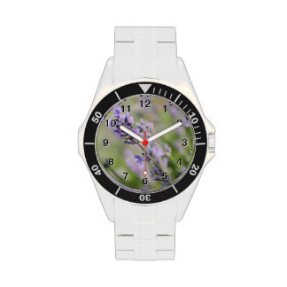 Lavender Flowers. Wrist Watches