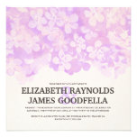 Lavender Flowers Wedding Invitations Personalized Announcements