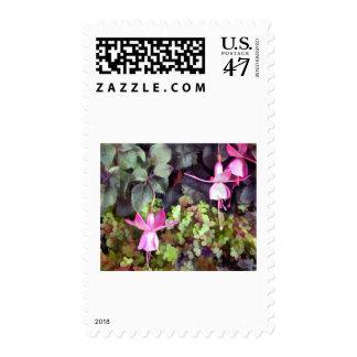 Lavender Fuschsias Postage