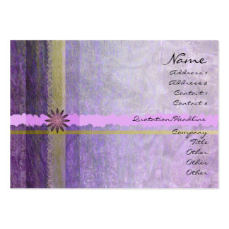 Lavender Giftwrap Profile Card Business Card