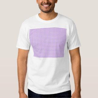 Lavender Gingham T Shirt