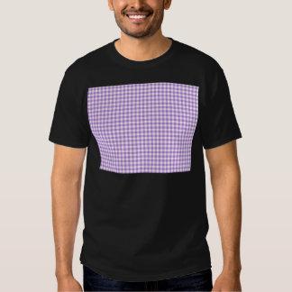 Lavender Gingham Tee Shirt