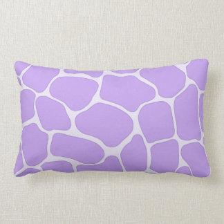 Lavender Giraffe Print American MoJo Pillows