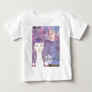 lavender girl.jpg baby T-Shirt
