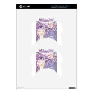 lavender girl.jpg xbox 360 controller decal