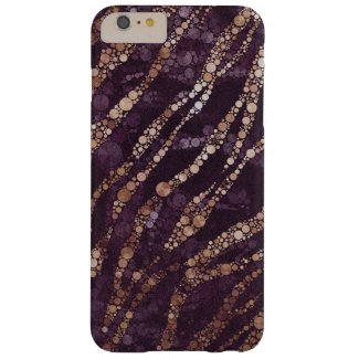 Lavender/Gold Zebra Bling iPhone6 Plus case Barely There iPhone 6 Plus Case