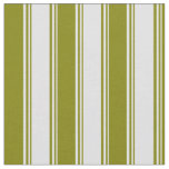 [ Thumbnail: Lavender & Green Colored Lines Fabric ]
