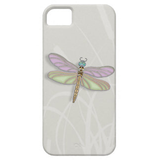 Lavender & Green Dragonfly iPhone SE/5/5s Case