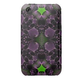 Lavender Green Elegant Cases iPhone 3 Case-Mate Case