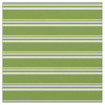 [ Thumbnail: Lavender & Green Lines/Stripes Pattern Fabric ]