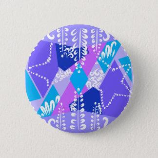 Lavender grove Pattern Pinback Button