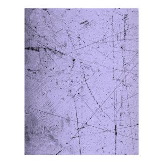 Lavender Grunge Letterhead