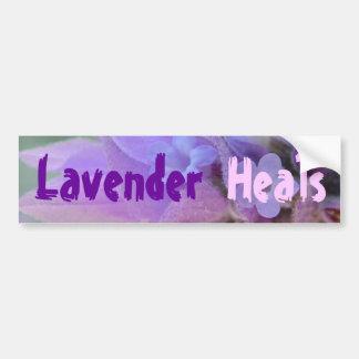 Lavender Heals bumper sticker