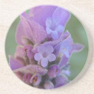 Lavender Heals coaster