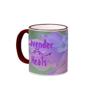 Lavender Heals mug