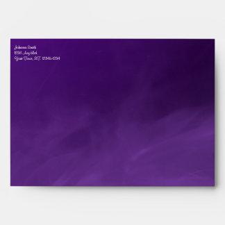 Lavender Hearts Gothic Envelope