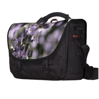 Lavender Herb Laptop Messenger Bag