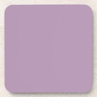 Lavender Herb Purple Trend Color Background Beverage Coaster